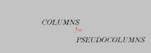 Las Pseudo-Columnas En Oracle